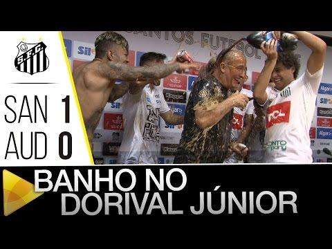 Santos 1 x 0 Audax | BANHO NO DORIVAL | Paulistão (08/05/16)