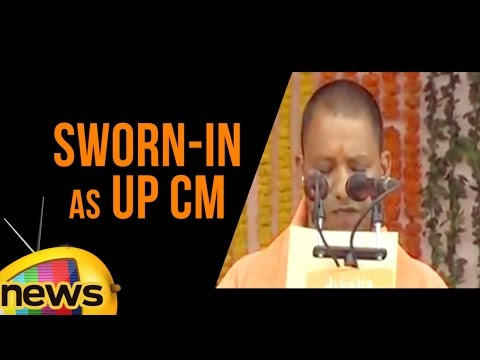 Yogi Adityanath Sworn-in As UP CM | PM Modi and Amit Shah At Swearing In Ceremony | Mango News