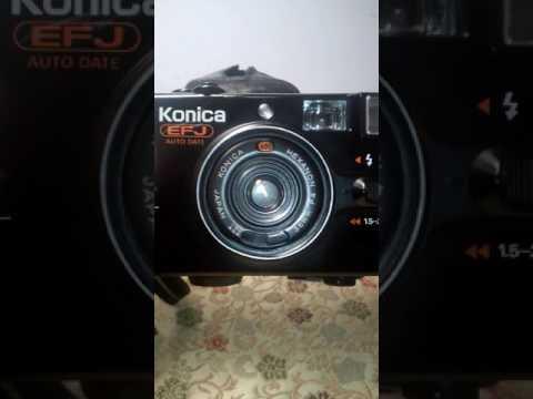 Konica EFJ point and shoot working camera