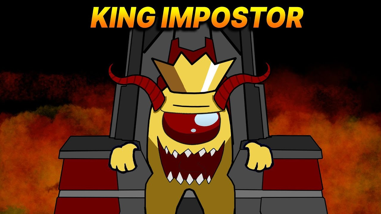 [ AMONG US ] Airship vs King Impostor ( The Henry Stickman Died 2 )  Season 2 - King is Coming