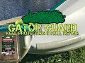 Gator Guard:  Kayak Keel Protection & Hull Repair