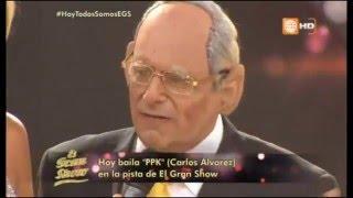Carlos Alvarez imitando a PPK en EL GRAN SHOW 14/05/2016