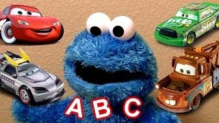 Learn the ABCs Alphabet With Cookie Monster Eats Cars Play-Doh Cookie Monster's Letter Lunch Disney