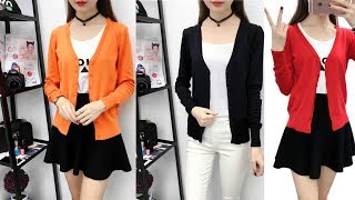Sweater Women Long Sleeve Cardigan Knitted Coat Review | Best Cardigan For Women Fashion 2019