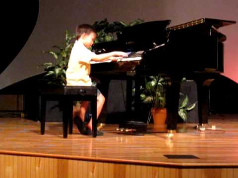 Nick Piano Recital - The Woodchopper's Song