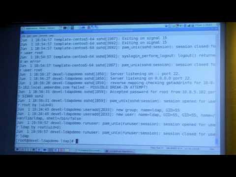 LDAP & Radius Centralised Authentication