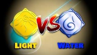 Light vs Water | Roblox Elemental Battlegrounds