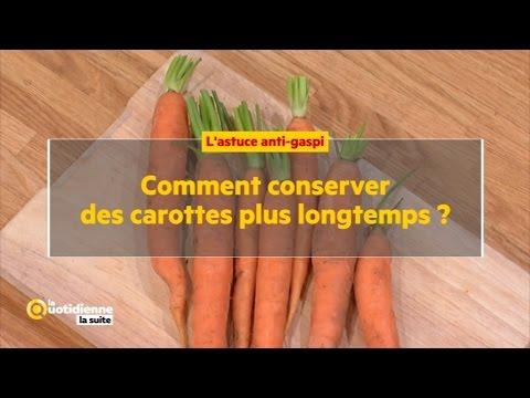 comment conserver des carottes plus longtemps ? - youtube