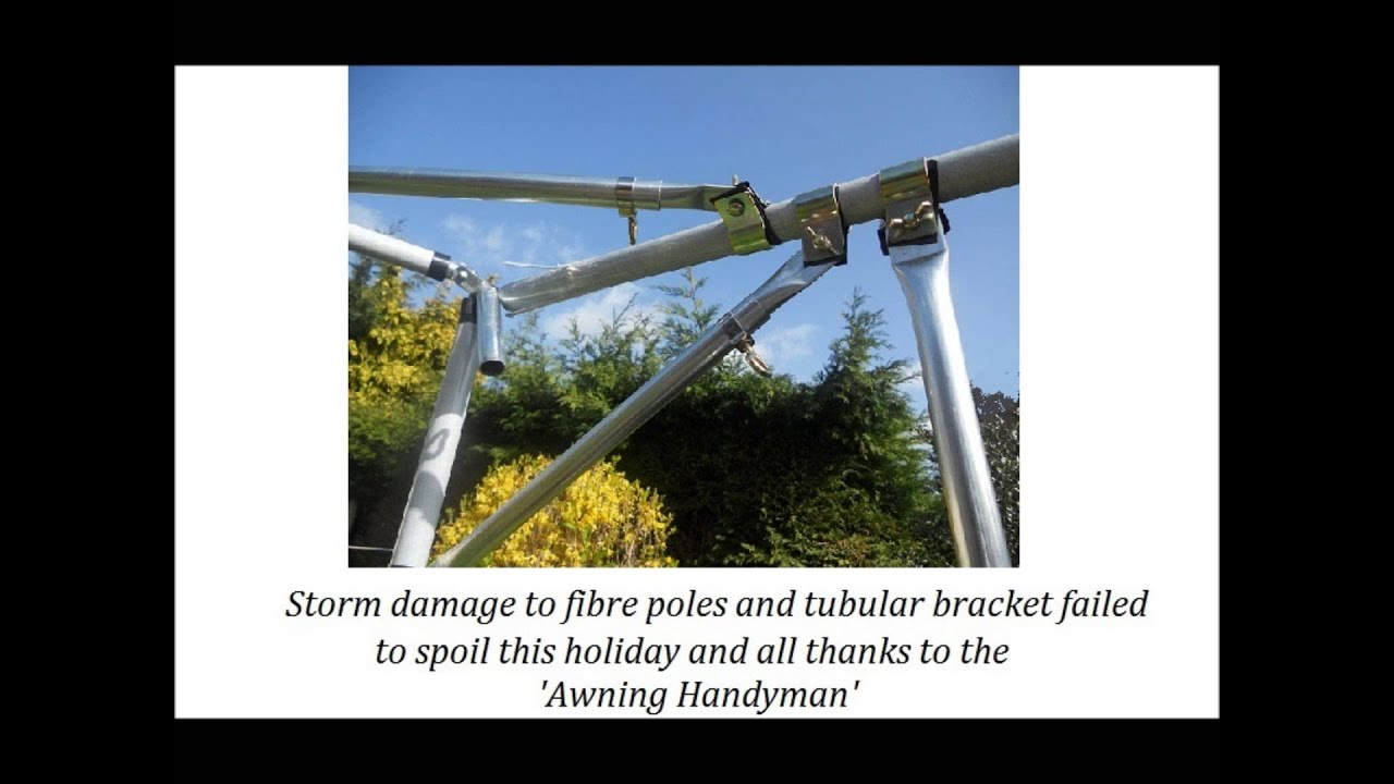 Awning Poles From Handyman