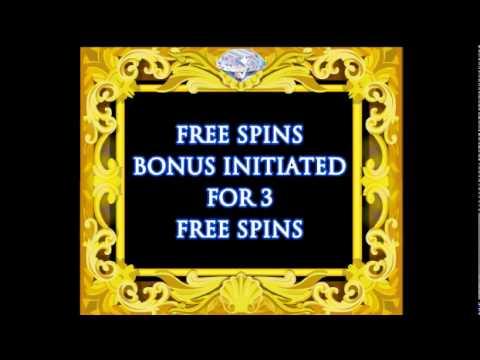 Da Vinci Diamonds® Online Video Slot by IGT - Game Play Video
