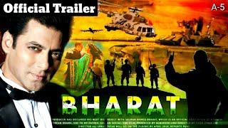 Bharat Movie Official Trailer   Release Date Out   Salman Khan, Katrina Kaif, Bharat film Trailer