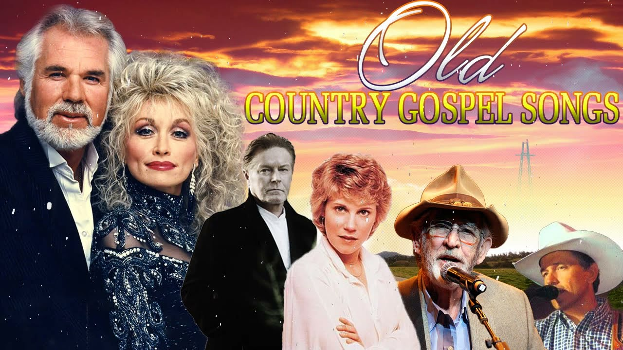 Old Country Gospel Songs Of All Time - Inspirational Country Gospel Music - Beautiful Gospel Hymns