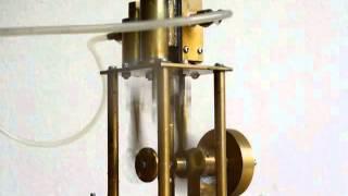 単気筒複動式 蒸気エンジン#7