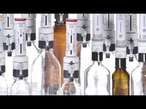 Calibrex Bottle Top Dispenser - general presentation