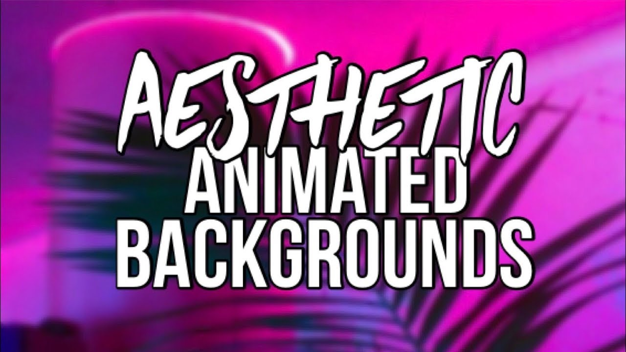 Aesthetic Vaporwave Pixel Animated Backgrounds Youtube