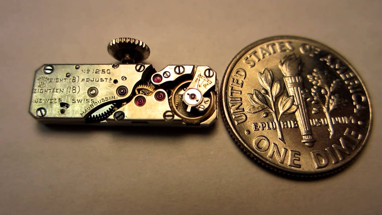 Smallest Watch Movement