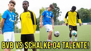 14 jähriges BVB  Riesen Talent VS SCHALKE 04 Talent l Wer ist Besser?
