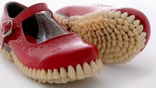 أغرب أحذية يمكن أن تراها في حياتك (أحذية أغرب منها لم ترى قط عيناك)!!