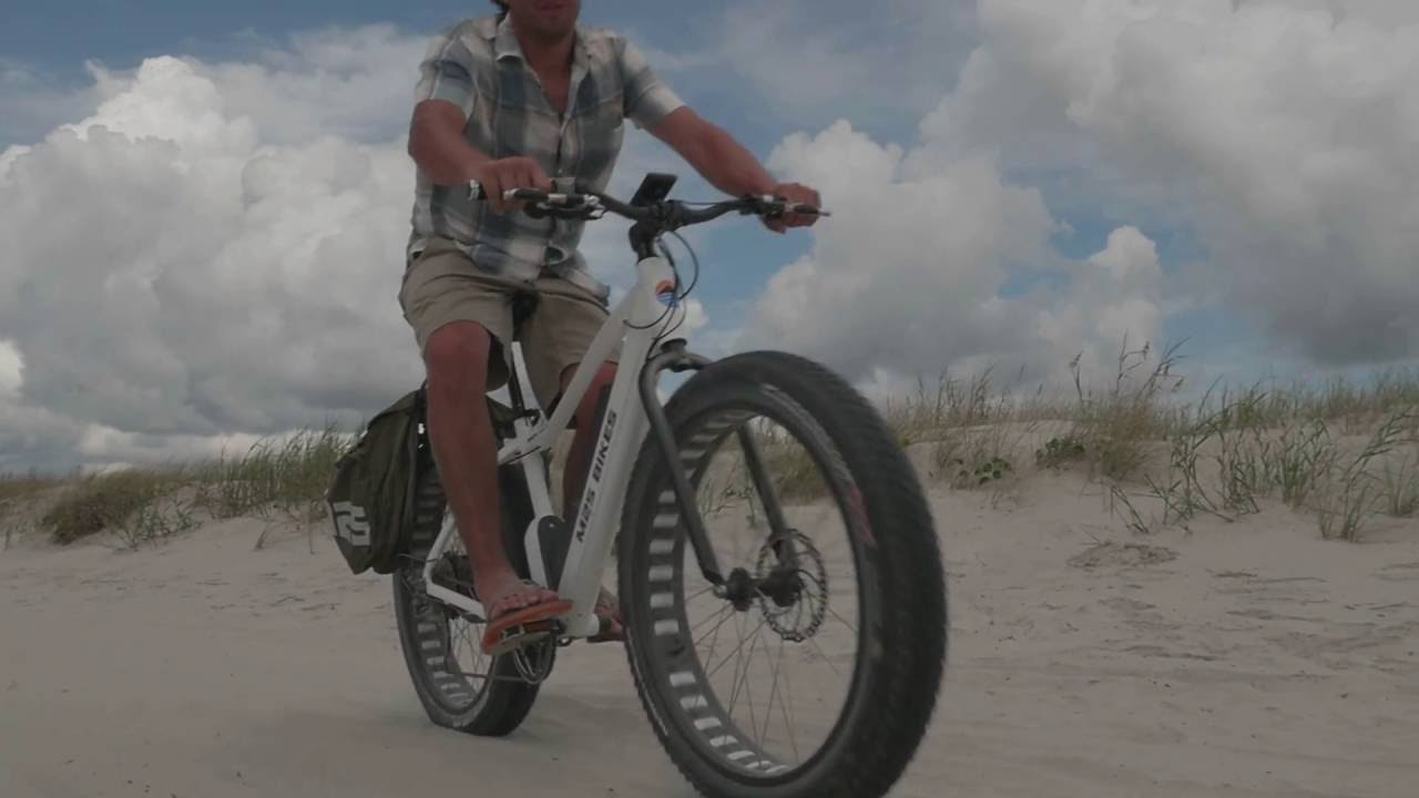 M2s Bikes All Terrain Electric Fat Bike Youtube