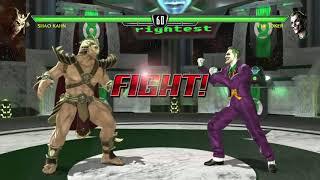 Mortal Kombat vs DC universe playthrough_Shao Kahn