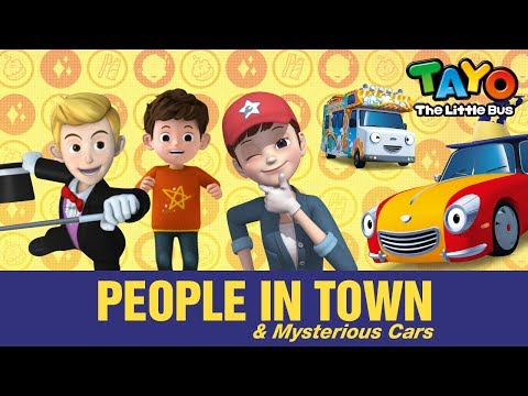 People in town l Meet Tayo's Friends #10 l Tayo the Little Bus