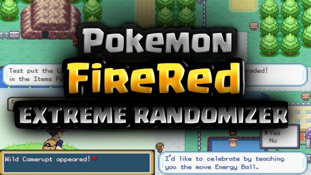 download pokemon fire red extreme randomizer