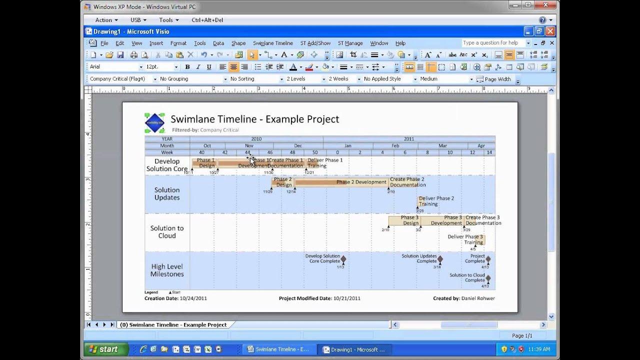 Process Flow Diagram Visio 2016