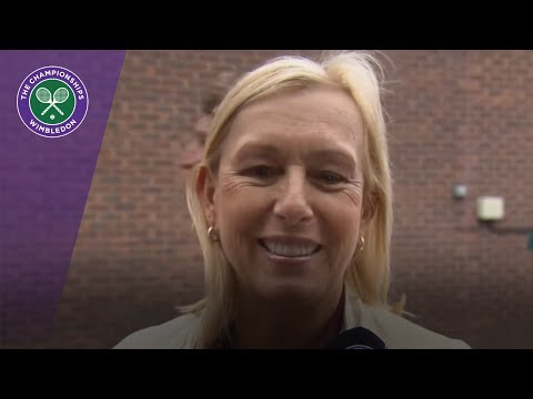 Martina Navratilova talks Wimbledon 2017 Ladies' Invitiational Doubles and more