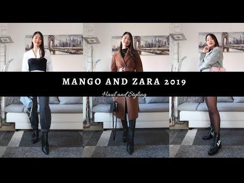 MANGO & ZARA 2019 | Haul And Styling #newinmango #zara #zarasale
