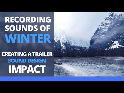 Recording Sounds Of Winter - Trailer Sound Design - Norwegian Mountains
