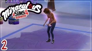 Marinette e Alya no Festival 🐞 Miraculous VnC - The Sims 4