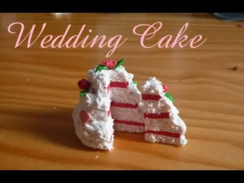 ... ] Wedding Cake / Gâteau de mariage en Fimo/ Polymer clay - YouTube