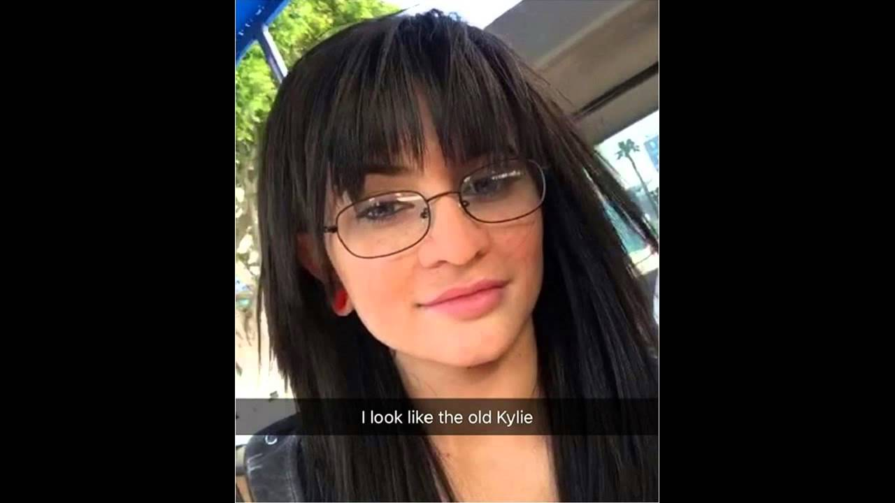kyliejenner #makeover! hot celebrity has a new look! old lady
