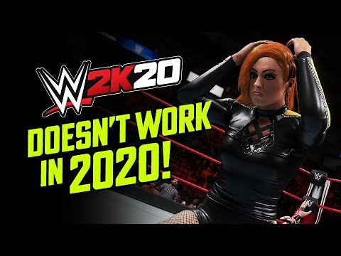 How to Stop WWE 2K20 Crashing in 2020! 🤦🏻‍♂️  #FixWWE2K20