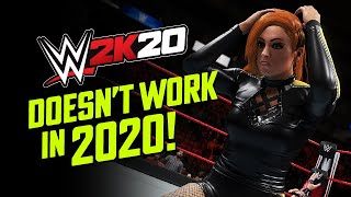 Playing WWE 2K20 in 2020 Crashes the Game! 🤦🏻‍♂️ (How to Fix) #FixWWE2K20