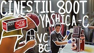 Cinestill 800T - Yashica-C TLR - Ventura Coast Brewing Co.