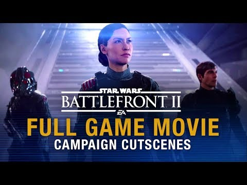 Star Wars Battlefront 2 Full Game Movie (Campaign Cutscenes) | 1080P 60 FPS HD