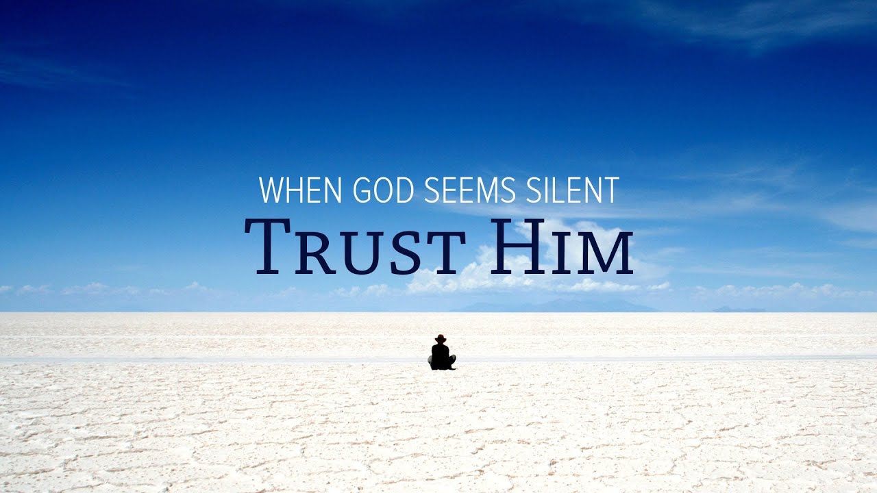 When God Seems Silent, Trust Him - Peter Tan-chi - YouTube