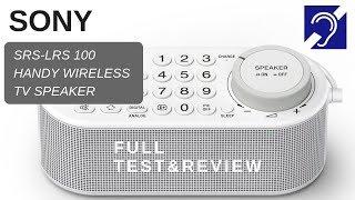 Sony SRS-LSR 100 Wireless Handy TV speaker review