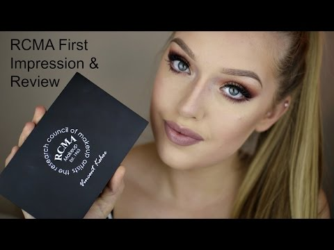 RCMA Foundation Palette First Impression & Review thumbnail