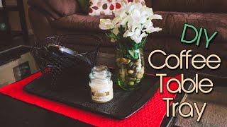 Coffee Table Tray | DIY | Creative & Cheap Room Decor | Creation in Between
