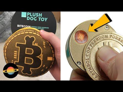 10 najciekawszych gadżetów inspirowanych bitcoinem