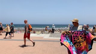 Gran Canaria Playa de Ingles One Way to the Beach Sommer 2019 4K
