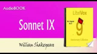 Sonnet IX Audiobook William Shakespeare
