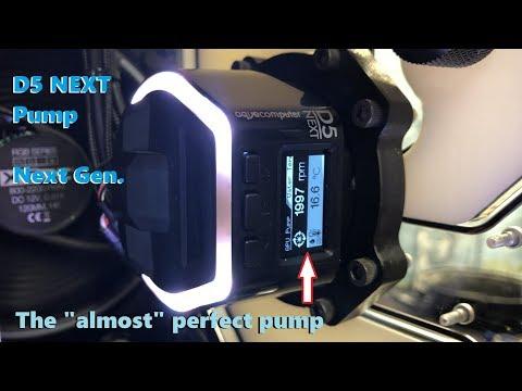 Aquacomputer 41118 D5 Next RGB Water Cooling Pumps