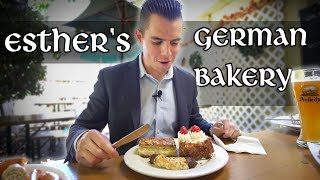 Amazing German Food in Los Altos at Esther's German Bakery