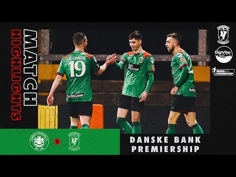 Carrick Rangers Glentoran Goals And Highlights