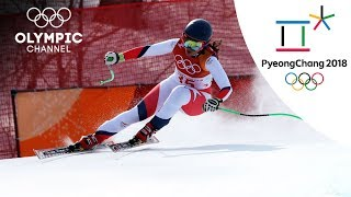 Chile's Barahona achieves her best Olympic result in Downhill | Day 12 | Olympics 2018 | PyeongChang