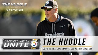 Steelers Nation Unite Weekly Huddle with Defensive Coordinator Keith Butler