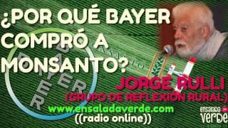 Video ¿Por qué bayer compró a monsanto? Jorge Rulli ( grupo de reflexión rural) en Ensaladaverde.com download MP3, 3GP, MP4, WEBM, AVI, FLV September 2017